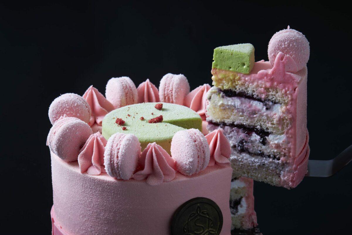 Macaron Cakes